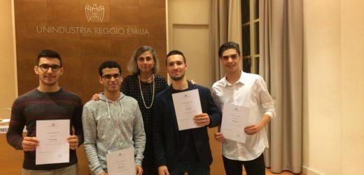 "Borse di studio Unindustria: i ""fantastici quattro""!"