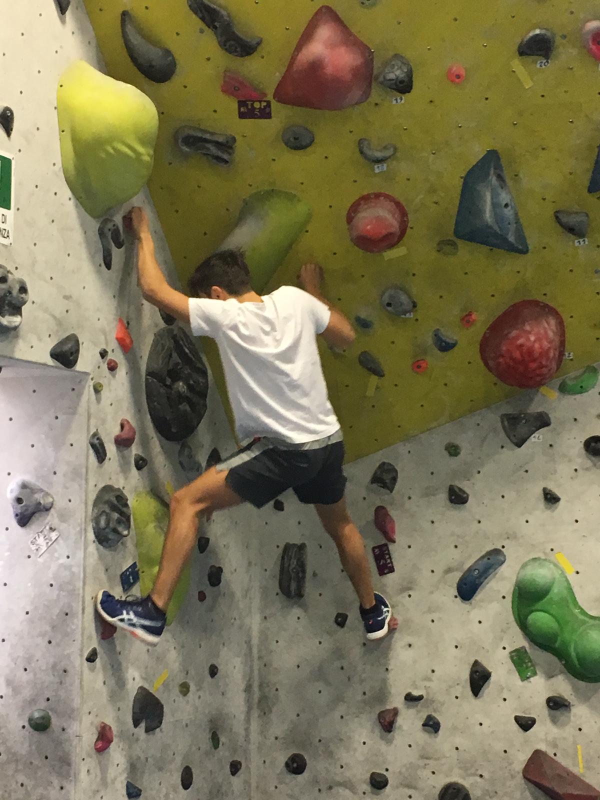 Passione arrampicata: 16 classi ad A1 Climbing!