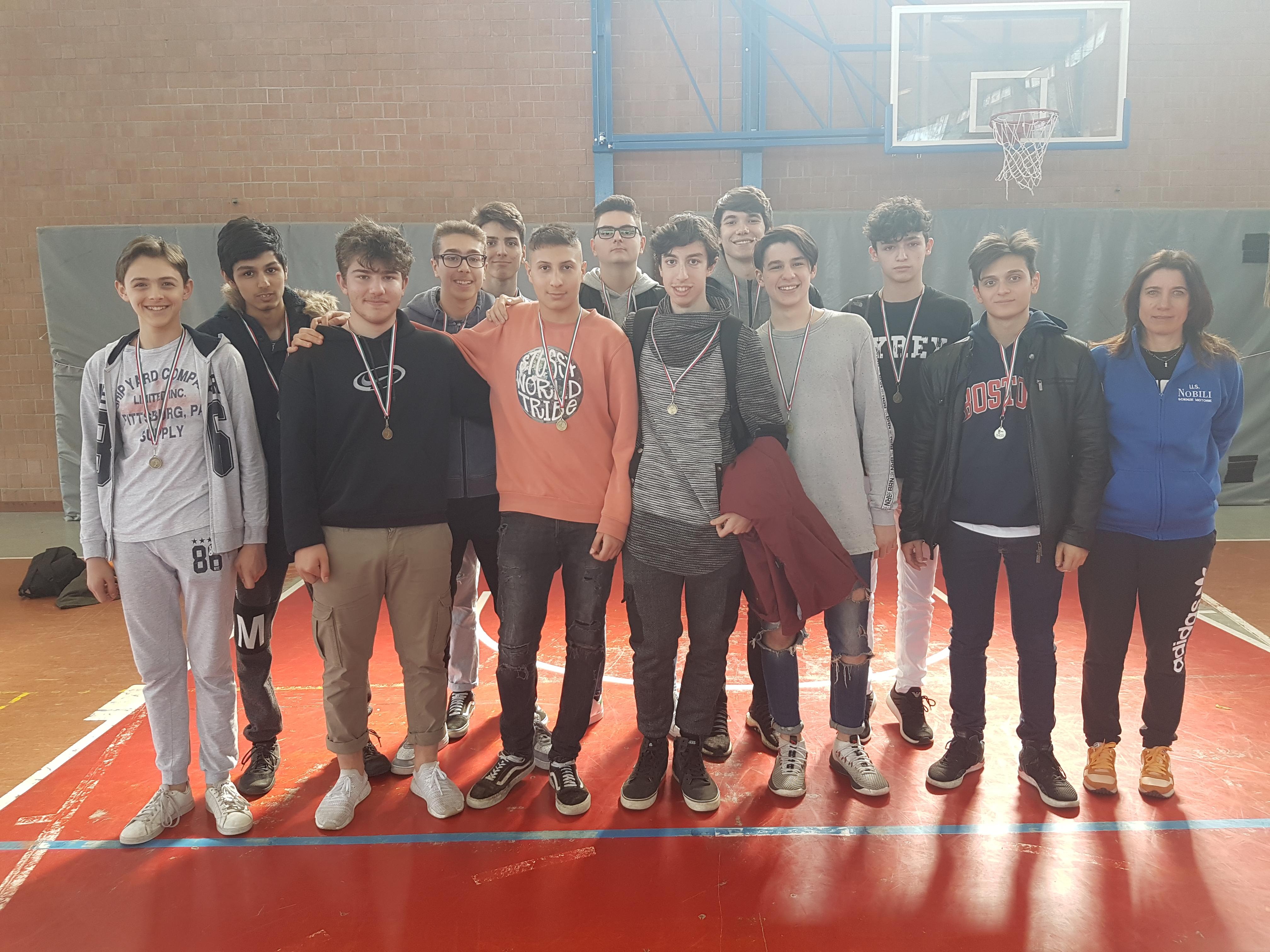 Finali di Volley allievi: Nobili terzo!
