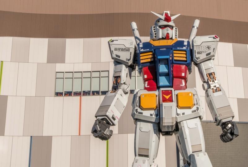 Gundam, 18 metri di robot a spasso per Yokohama