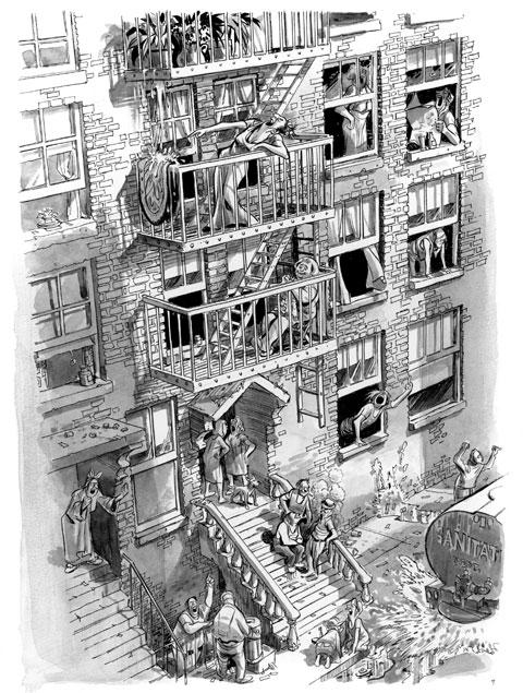 Il condominio: dall'immagine alla scrittura
